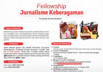 fellowship jurnalisme pontianak rumah bersama, suar asa khatulistiwa, yayasan saka Pontianak, saka,